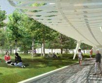 В Москве начато строительство двух новых парков