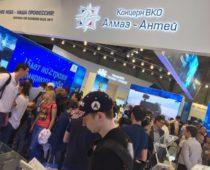 Более 40 иностранных делегаций посетили экспозицию «Алмаз-Антей» на МАКС-2017