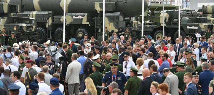 Форум «Армия-2017» посетили более 700 тысяч человек