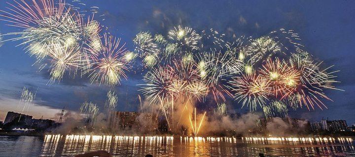 На фестивале фейерверков в Москве сожгут почти 30 тонн пиротехники