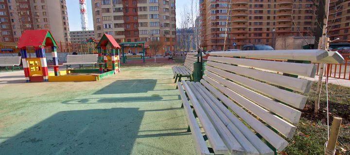 С начала года в Подмосковье благоустроено почти 650 дворов