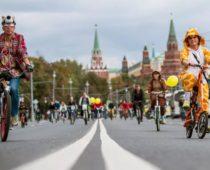 В столице пройдет традиционный осенний Московский велопарад
