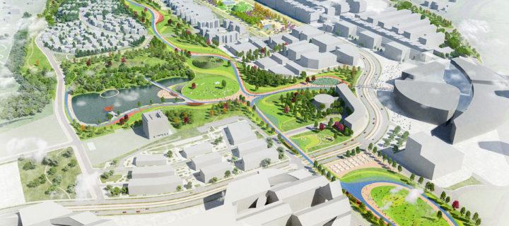 Центральный парк появится в Сколково в 2018 году