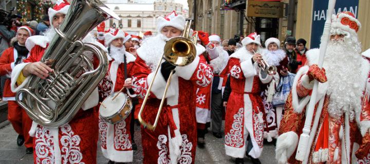 В центре Москвы пройдет парад Дедов Морозов