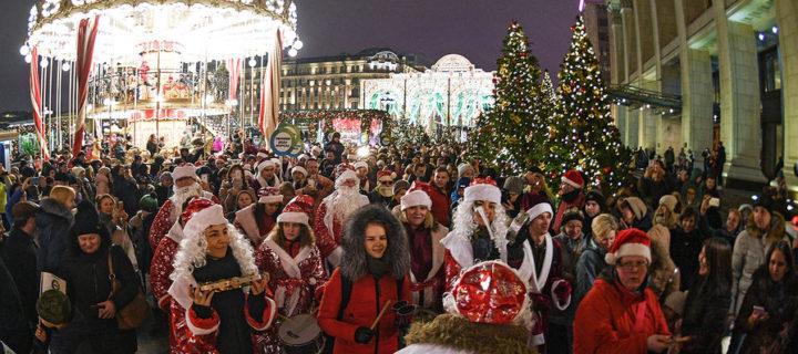 Десятки центральных улиц Москвы закроют для автомобилей до 3 января