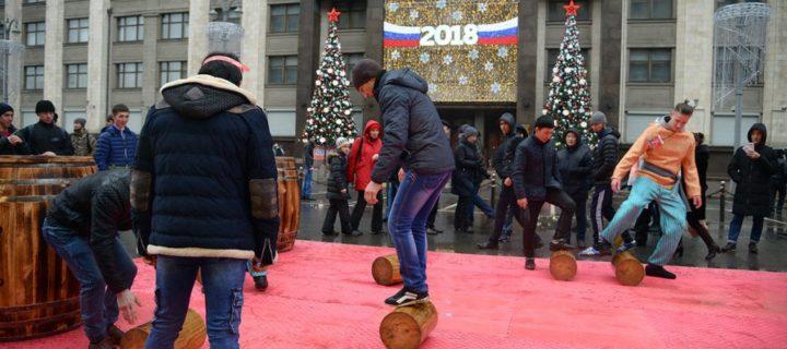 Праздничные гуляния на Тверской улице Москвы посетили 2,7 млн человек