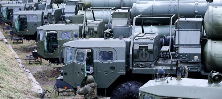 Первый полковой комплект С-400 «Триумф» поставила в Китай Россия