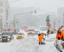 В Москве за выходные выпало 122% месячной нормы осадков