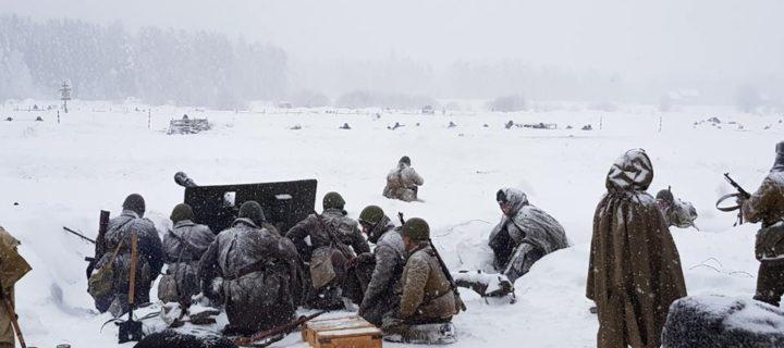 В Подмосковье прошла военно-историческая реконструкция событий Балатонской оборонительной операции