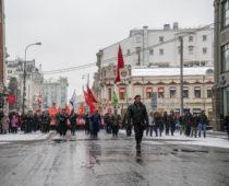 В центре Москвы пройдет демонстрация в честь столетия Красной Армии