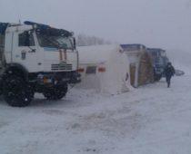 В Брянской области из-за морозов и метели развернуты пункты обогрева