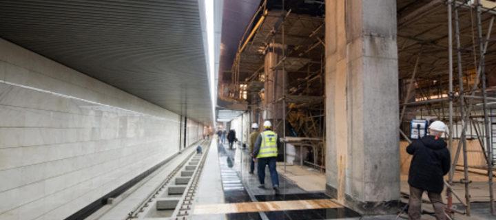 Более 13 новых станций метро откроются за МКАД в 2018 году