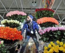 В канун 8 марта в Москве будут работать более 1,7 тыс. точек по продаже цветов