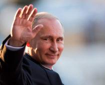 Путин получает в Москве 70,86% голосов после обработки более 99% протоколов