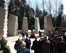 Мемориал «Катынь» под Смоленском открыли после реконструкции