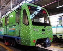 Поезд «Московская весна A Cappella» запустили на Кольцевой линии метро