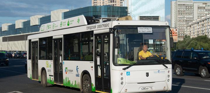 «КамАЗ» поставит в Москву 100 электробусов