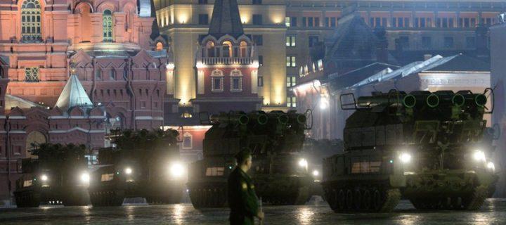 На Красной площади пройдёт вторая ночная репетиция Парада Победы