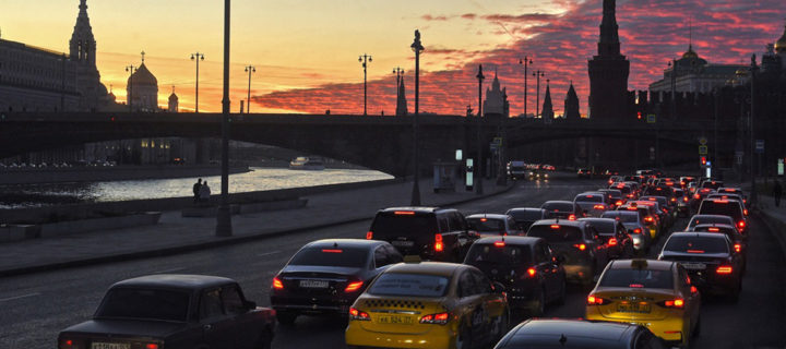 Москвичей предупредили о трудностях на дорогах в канун открытия ЧМ-2018