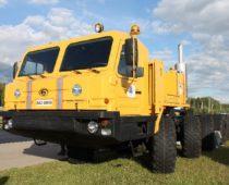 Брянский автозавод представил специальное колесное шасси для МЧС на выставке «Комплексная безопасность-2018»