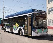 Первый электробус вышел на маршрут Тулы