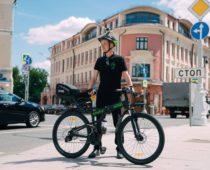 Велопатруль начал работу в центре Москвы