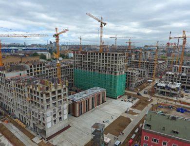 Более 2 млн кв.м. недвижимости построили в Москве за полгода