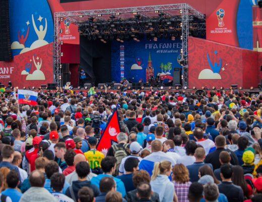 Около 8 млн человек посетили фан-зоны в российских городах во время ЧМ-2018