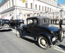 Парад ретро автомобилей пройдет в Москве 2 сентября