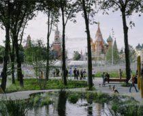 Почти 10 млн человек побывали в новом московском парке «Зарядье»