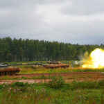 В Подмосковье стартовали учения Кантемировской танковой дивизии