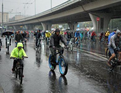 Участниками осеннего велопарада в Москве стали около 20 тыс. человек