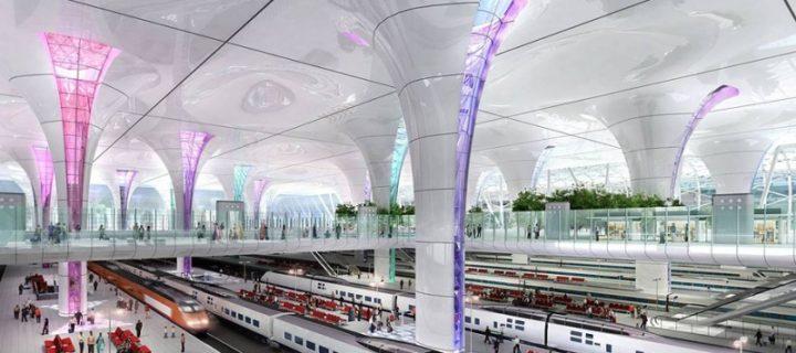 В районе «Москва-Сити» построят новый железнодорожный вокзал