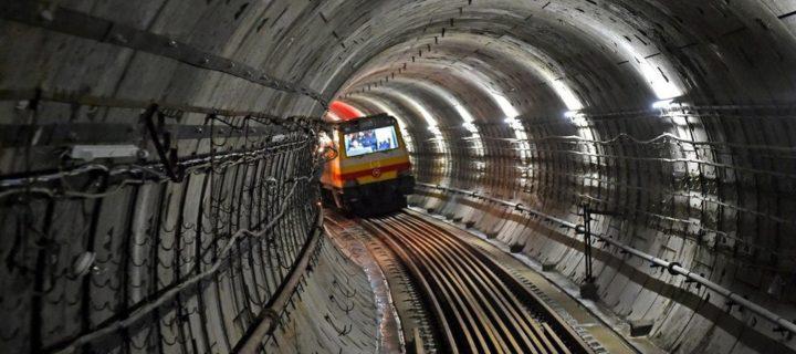 До конца 2021 года в Москве построят четыре участка Большой кольцевой линии метро