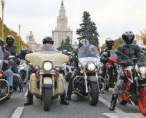 Осенний мотопарад в Москве посетили более 40 тыс. человек
