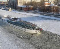 В столице стартовала зимняя пассажирская навигация по Москве-реке