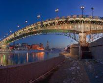 Через Москву-реку построят тринадцать новых мостов