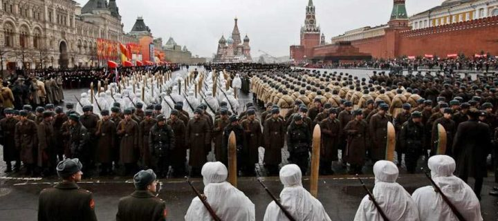 Историческая реконструкция легендарного парада 1941 года пройдет на Красной площади