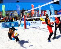 В Москве пройдет стартовый этап Европейского тура по волейболу на снегу