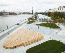 Почти 60 км набережных Москвы-реки реконструировано в столице