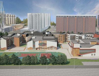 Самая большая школа России откроется на территории бывшего завода ЗИЛ