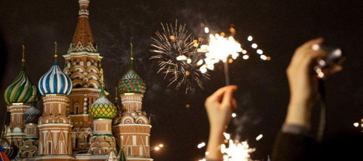 Более 12,5 млн человек приняли участие в новогодних торжествах в Москве