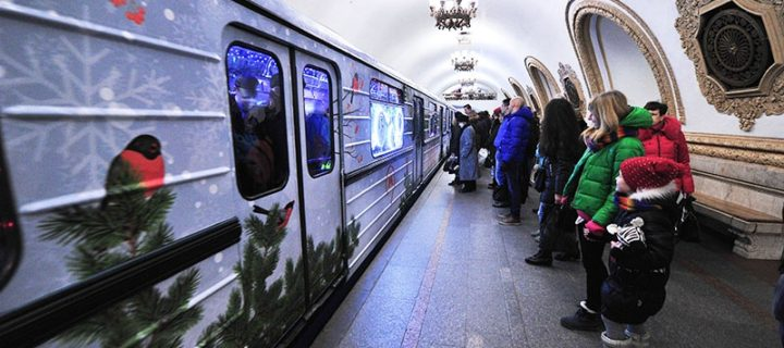 Московский транспорт перевез 425 тыс. пассажиров в рождественскую ночь
