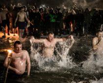 Более 2,4 миллиона россиян приняли участие в праздновании Крещения