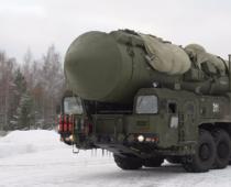 Колонна пусковых установок «Ярс» перебазируется в Подмосковье из-под Иваново
