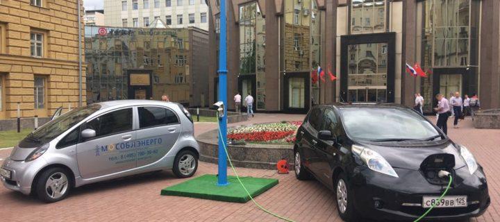 Более 160 зарядок для электромобилей установлено в Подмосковье