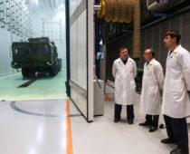 В Москве открыли новый производственный корпус НПО «Алмаз»