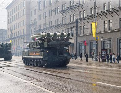 Репетиции парада Победы пройдут в Москве 29 апреля, 4 и 7 мая