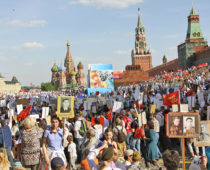 В Москве на маршруте «Бессмертного полка» развернут полевые кухни