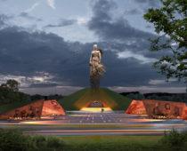 К 75-летию Победы под Ржевом откроют самый масштабный в России воинский мемориал